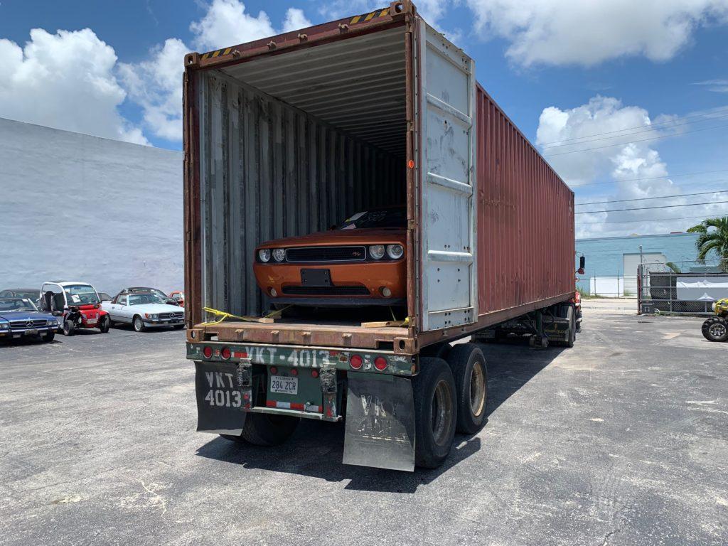 wysyłka auta w kontenerze