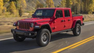 2018 JEEP GLADIATOR – Pick-Up Nowość od Jeepa
