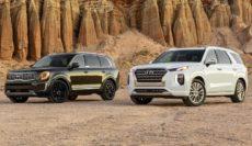Nowe 7 osobowe koreańskie SUV-y Hyundai Palisade & KIA Telluride